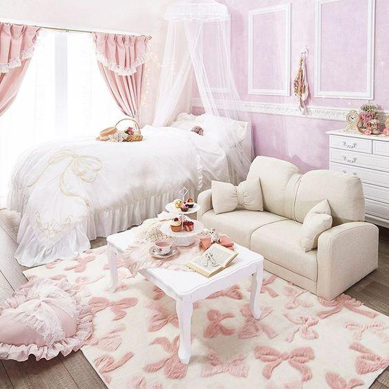 Romantic Princess Bedroom Idea