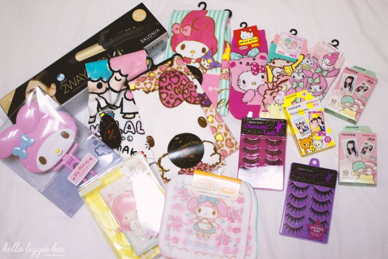 Sanrio Items from Donki (Don Quiote)