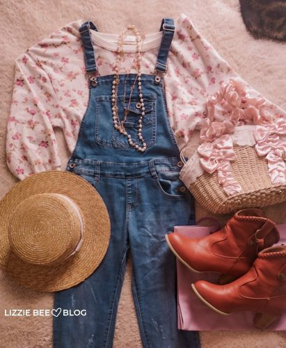 How to style overalls for spring