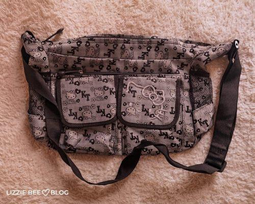 Sanrio Bag Collection - Grey Hello Kitty Schoolbag