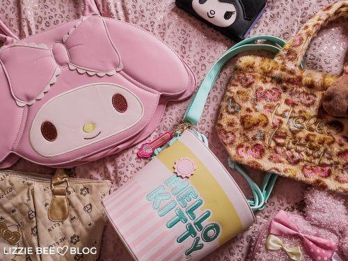 Sanrio Bag Collection via hellolizziebee
