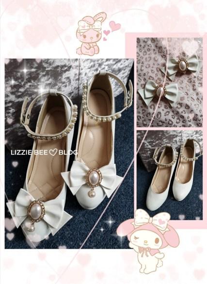 Hime gyaru shoes DIY