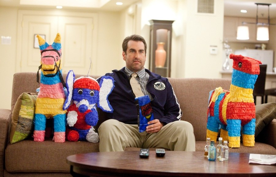 Rob Riggle loves his donuts.
