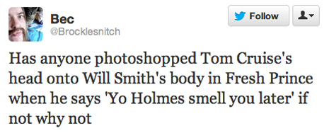 The best tomkat - tom cruise and katie holmes - divorce tweets.
