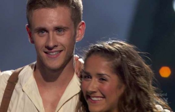 Audrey Case and Matthew Kazmierczak on SYTYCD Season 9 Top 20.