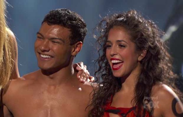Janelle Issis and Dareian Kujawa on SYTYCD Season 9 Top 20.