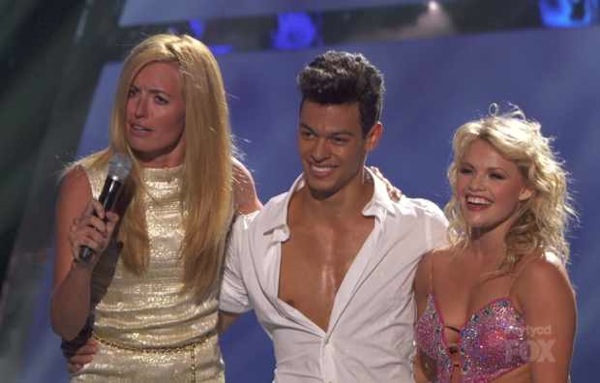 Witney Carson and Chehon Wespo Tschopp on SYTYCD Season 9 Top 20.