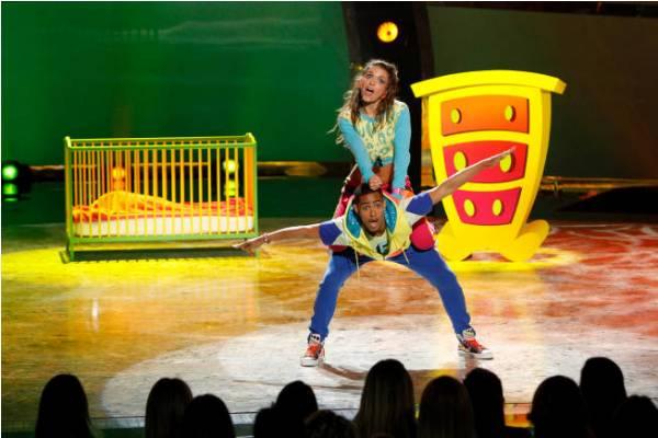 Tiffany and george dance on SYTYCD Season 9 Top 16