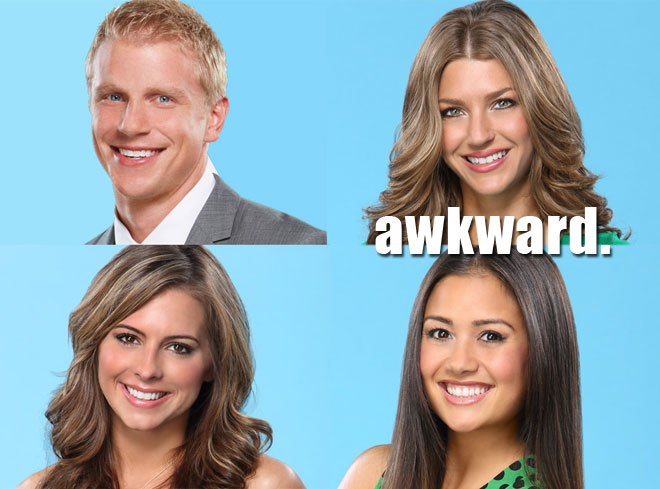 Lindsay and Catherine are the final two on the Bachelor.