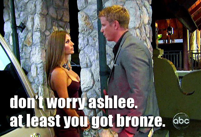 Sean Lowe breaks up with AshLee on the Bachelor.