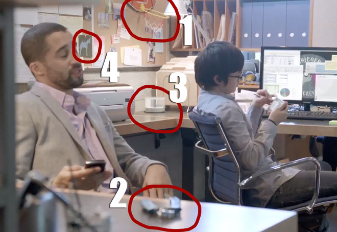 The salesmen in the Samsung Unicorn Apocalypse ad make fun of each other.