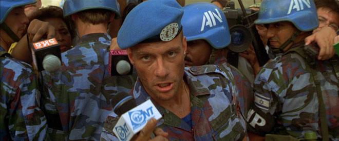 Jean Claude Van Damme plays Guile in Street Fighter.
