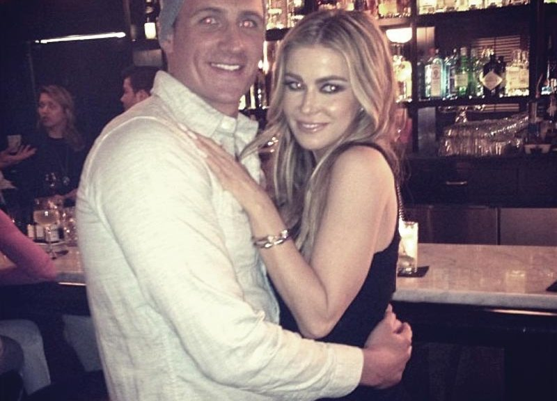 Ryan Lochte and Carmen Electra on What Would Ryan Lochte do?