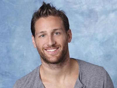 Juan Pablo on the Bachelorette.