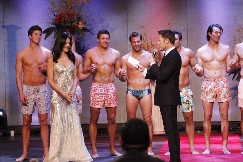Desiree and the Bachelors compete in the Mr. America pageant on the Bachelorette.