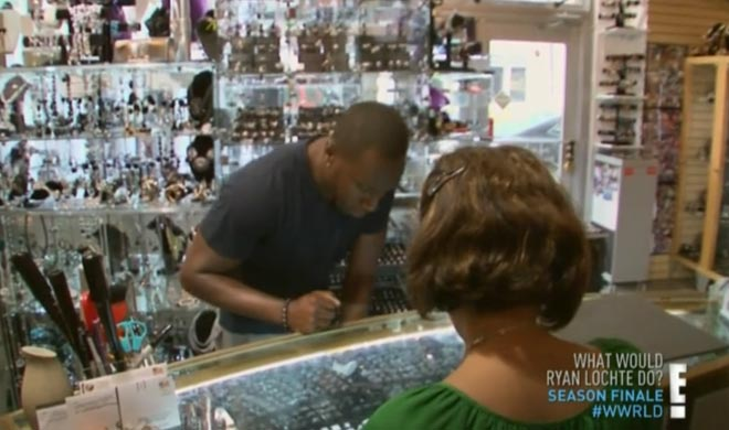 Gene and Ryan Lochte go ring shopping so he can propose to Morgan.