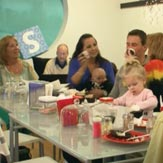 The Lochte family decorates cupcakes with ryan lochte on what would ryan lochte do?