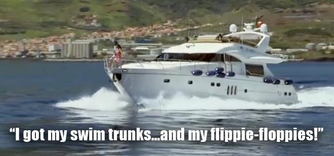 Desiree and Chris go on a boat for their date on the Bachelorette.