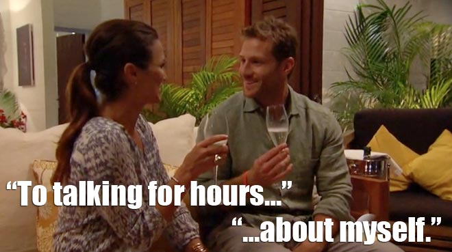 The Bachelor Juan Pablo and Andi get ready for their overnight date in St. Lucia.