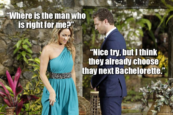 Bachelor Juan Pablo breaks up with Clare.