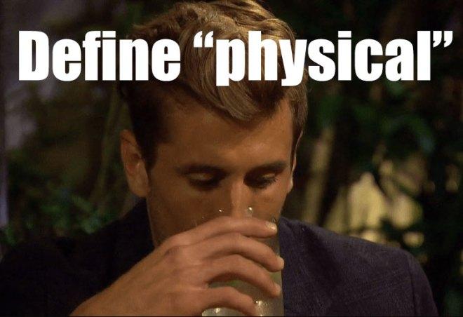 JoJo questions Jordan's past on the bachelorette.