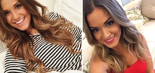 JoJo and Hope robby's ex girlfriend look very similar on the bachelorette.