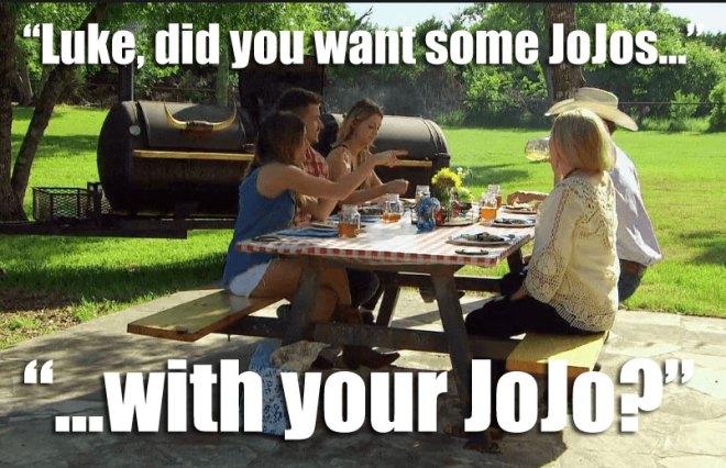Luke invites JoJo to meet his family on the Bachelorette.