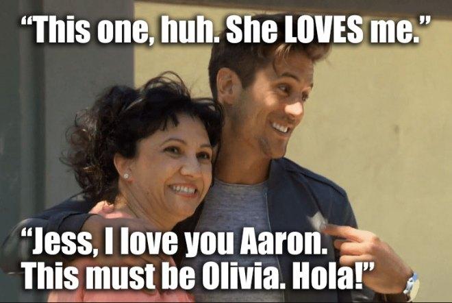 Jordan and JoJo meet his spanish teacher on the bachelorette.