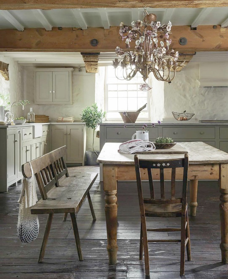 21 Beautifully Rustic English Country Kitchen Design ... on Rustic:mophcifcrpe= Cottage Kitchen Ideas  id=46846