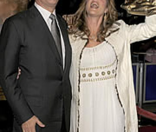 Meanwhile Across On The West Coast California Native Tom Hanks Was Joined By His Wife Rita Wilson To Promote His Latest Effort Charlie Wilsons War