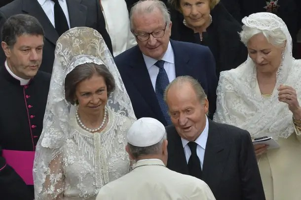 King Juan and Queen Sofia