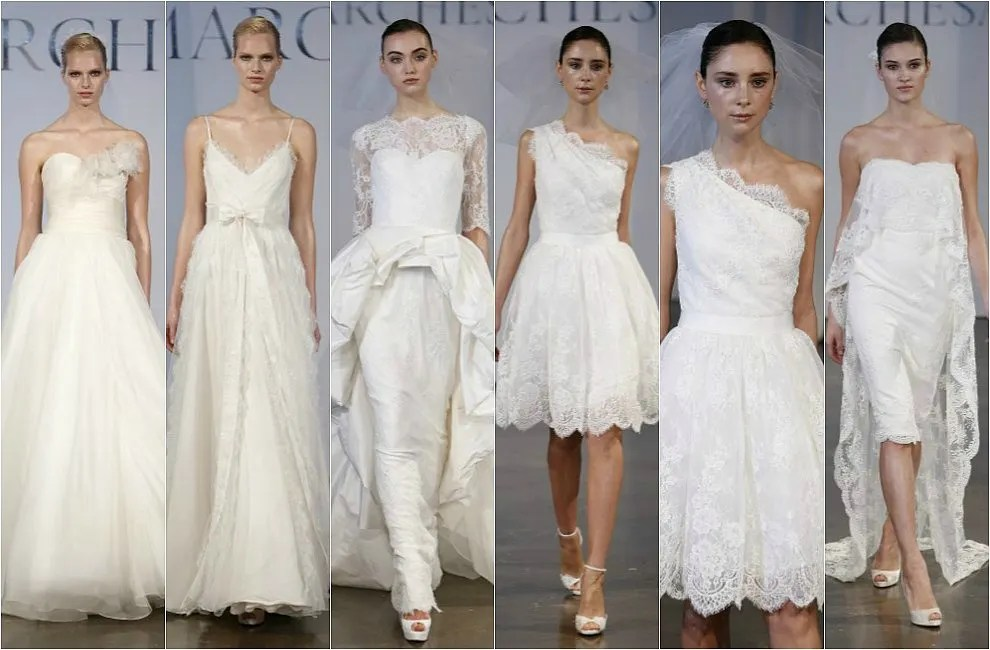 First Look At The Wedding Dresses Of New York Bridal Week 2013 2014
