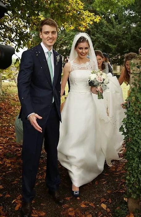 Tony Blairs Eldest Son Euan Blair Marries His Girlfriend