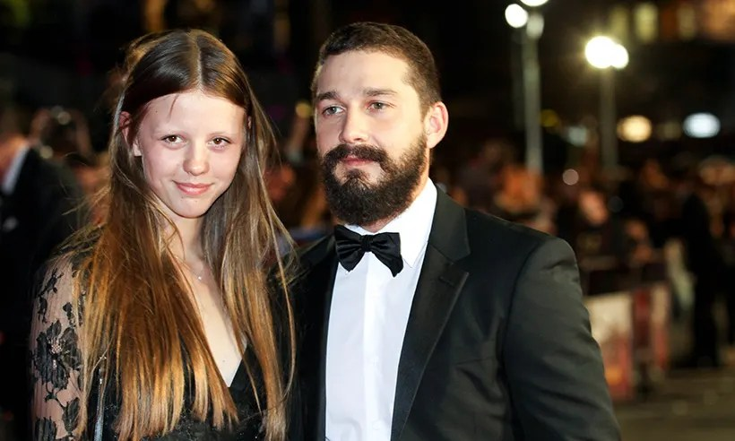 Shia LaBeouf Marries Mia Goth