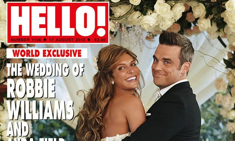 Inside The Stunning Wedding Of Robbie Williams And Ayda