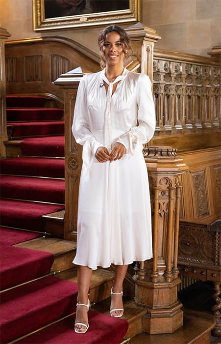 rochelle-humes-white-dress-downton-abbey-this-morning