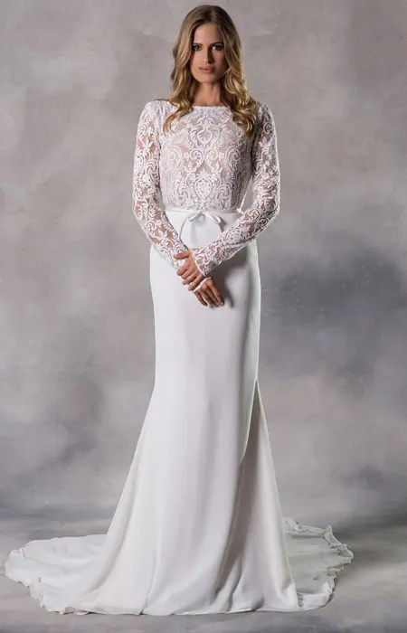 anna georgina wedding dress