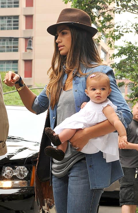 Camila Alves And Her Beautiful Baby Vida Join The Boys On