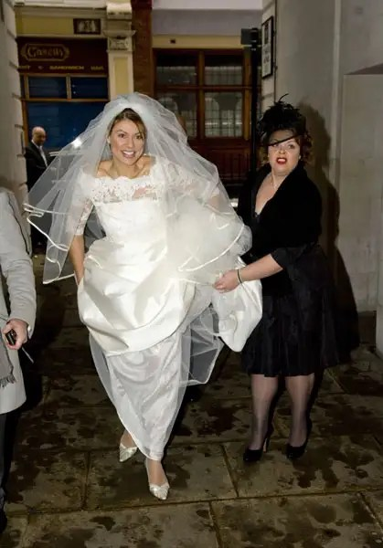 Newsreader Kate Silverton And Mike Heron Wed Photo 6