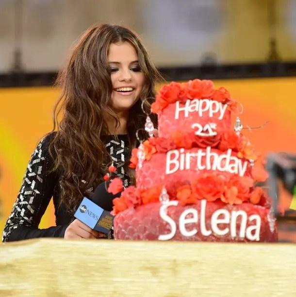 Selena Gomez Celebrates 21st Birthday With Gypsy Themed