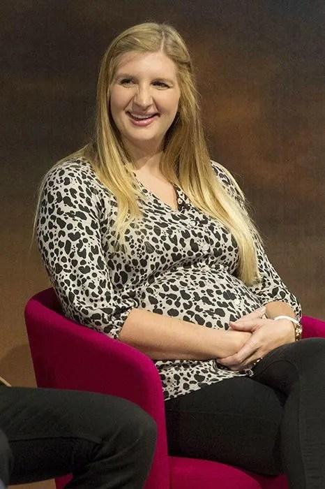 Rebecca Adlington Pictured Heavily Pregnant