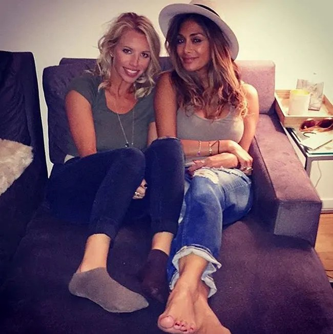 Nicole Scherzinger Enjoys Day Out With Nieces