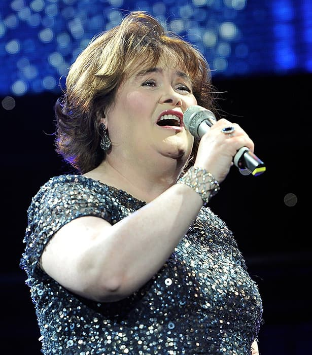 Susan Boyle Apologises For Airport Outburst