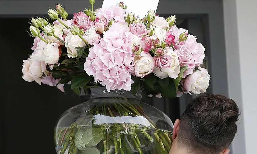 Pippa Middleton Inundated With Flowers Following Engagement Announcement