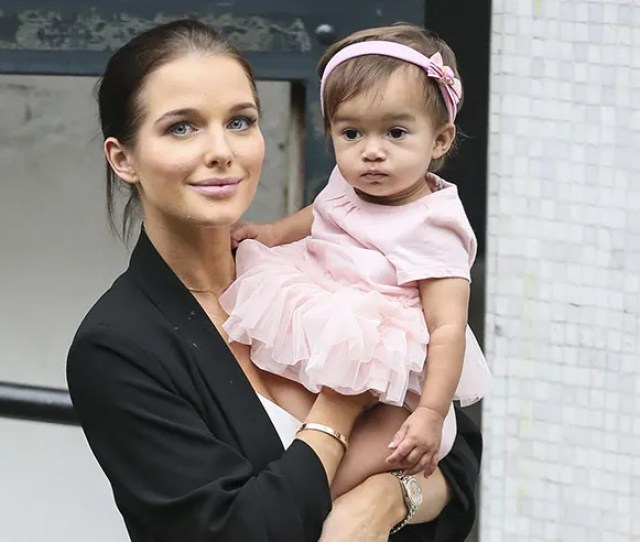 Helen Flanagans Adorable Daughter Matilda Steals The Show During Tv Appearance