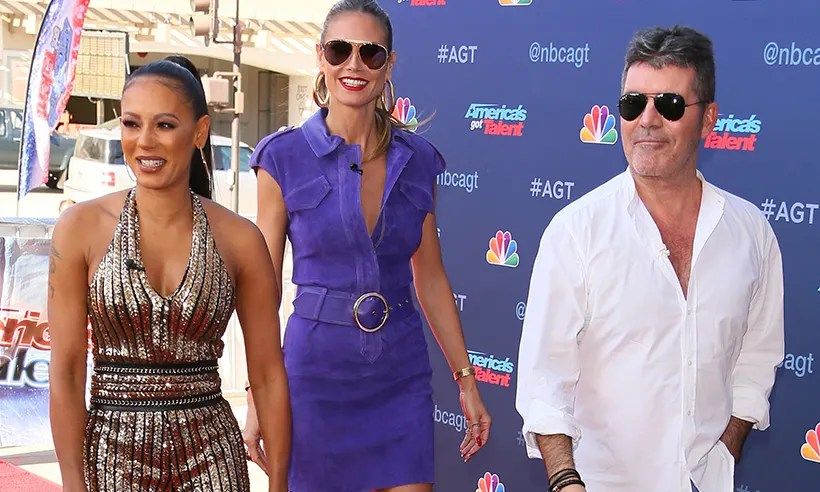 Simon Cowell talks about spat with Mel B over wedding night joke mel b simon cowell