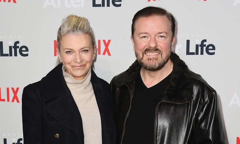 Ricky Gervais shares stunning rare photo of partner Jane | HELLO!