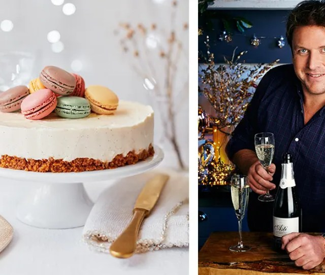 James Martin Teams Up With Asda To Create A Delicious Christmas Cheesecake With A Twist