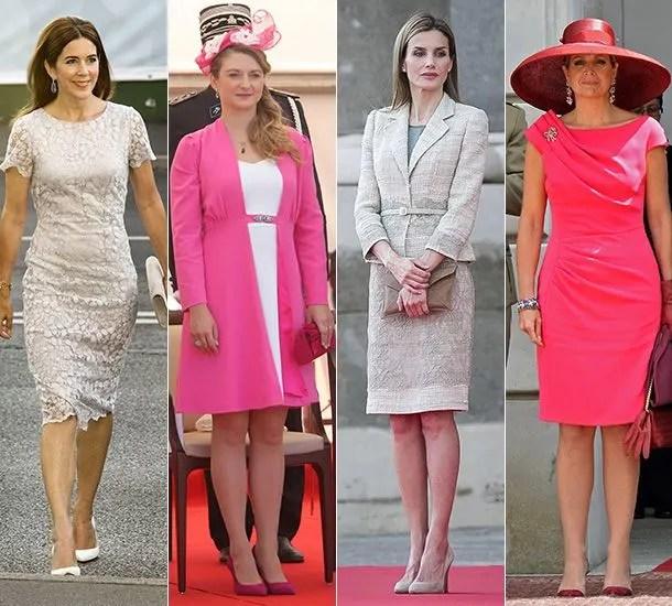 Princess Stephanie Princess Mary And Queen Maxima The