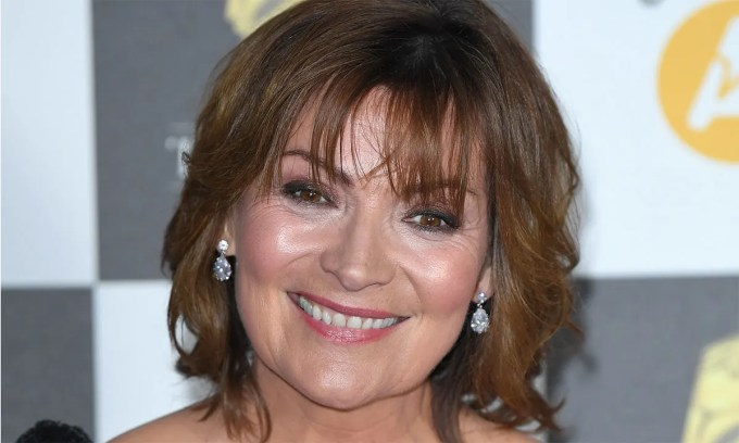 lorraine kelly's green and yellow wrap dress is from asos